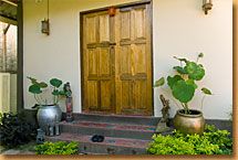Doors to the Shala
